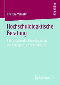 Cover Hochschuldidaktische Beratung