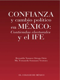 Cover Confianza y cambio político en México