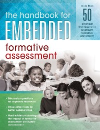 Cover The Handbook for Embedded Formative Assessment