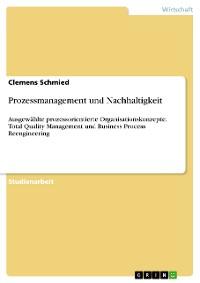Cover Prozessmanagement und Nachhaltigkeit