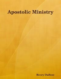Cover Apostolic Ministry