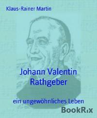 Cover Johann Valentin Rathgeber