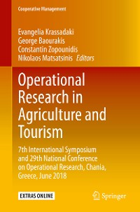 Cover Operational Research in Agriculture and Tourism