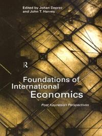 Cover Foundations of International Economics