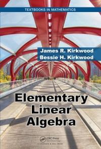 Cover Elementary Linear Algebra