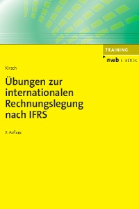 Cover Übungen zur internationalen Rechnungslegung nach IFRS