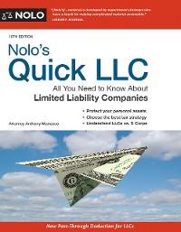 Cover Nolo's Quick LLC
