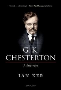 Cover G. K. Chesterton