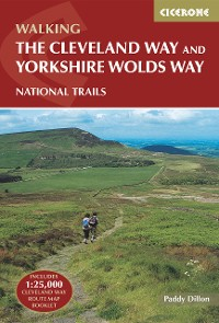 Cover The Cleveland Way and the Yorkshire Wolds Way
