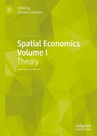 Cover Spatial Economics Volume I