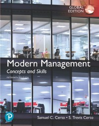 Cover Modern Management: Concepts and Skills, Global Edition