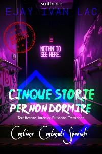 Cover Cinque Storie Per Non Dormire (Edizione Speciale)