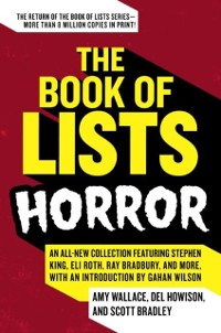 Cover Book of Lists: Horror