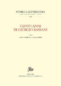 Cover Cento anni di Giorgio Bassani