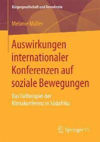 Cover Auswirkungen internationaler Konferenzen auf soziale Bewegungen