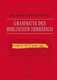 Cover Grammatik des Biblischen Hebräisch