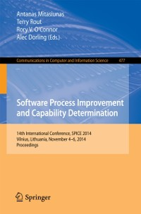 Cover Software Process Improvement and Capability Determination