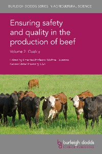 Cover Ensuring safety and quality in the production of beef Volume 2