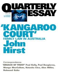 Cover Quarterly Essay 17