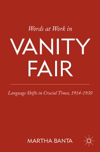 Cover Words at Work in Vanity Fair