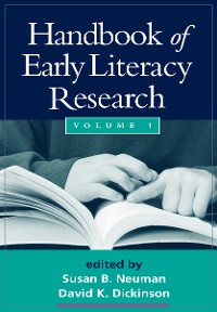Cover Handbook of Early Literacy Research, Volume 1