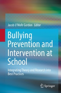 Cover Bullying Prevention and Intervention at School