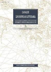 Cover Analisi Linguistica e Letteraria 2020-3