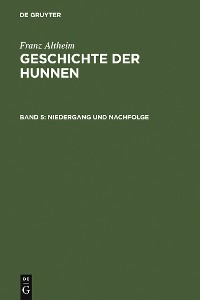 Cover Niedergang und Nachfolge