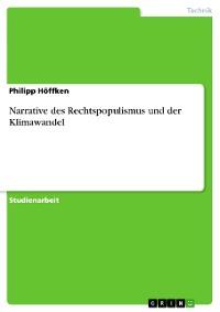 Cover Narrative des Rechtspopulismus und der Klimawandel
