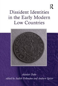 Cover Dissident Identities in the Early Modern Low Countries