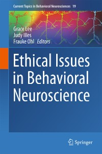 Cover Ethical Issues in Behavioral Neuroscience