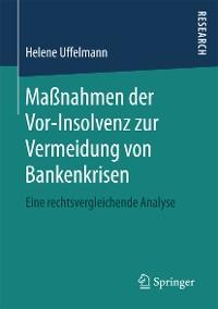 Cover Maßnahmen der Vor-Insolvenz zur Vermeidung von Bankenkrisen