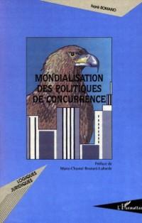 Cover Mondialisation des politiques de concurrence