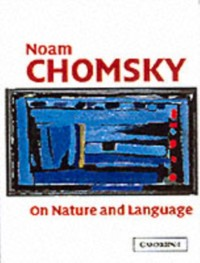 Cover On Nature and Language