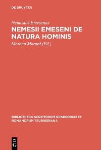 Cover Nemesii Emeseni De natura hominis