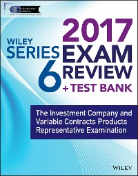 Cover Wiley FINRA Series 6 Exam Review 2017