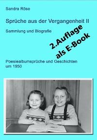 Cover Sprüche aus der Vergangenheit II