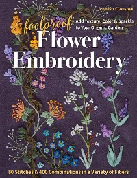 Cover Foolproof Flower Embroidery