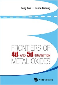 Cover Frontiers Of 4d- And 5d-transition Metal Oxides