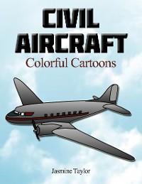 Cover Civil Aircraft Colorful Cartoons