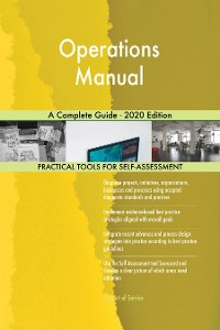 Cover Operations Manual A Complete Guide - 2020 Edition