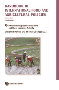 Cover Handbook Of International Food And Agricultural Policies (In 3 Volumes)