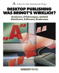 Cover Desktop Publishing - Was bringt's wirklich?