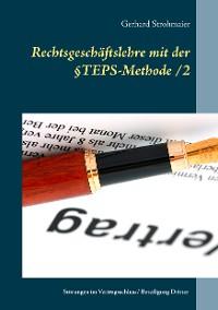 Cover Rechtsgeschäftslehre mit der  §TEPS-Methode/2