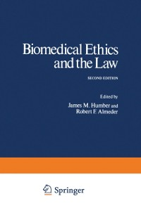 Cover Biomedical Ethics and the Law