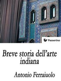 Cover Breve storia dell'arte indiana