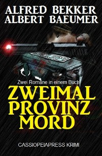 Cover Zweimal Provinzmord: Zwei Romane in einem Buch