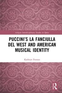 Cover Puccini's La fanciulla del West and American Musical Identity