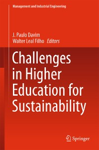 Cover Challenges in Higher Education for Sustainability