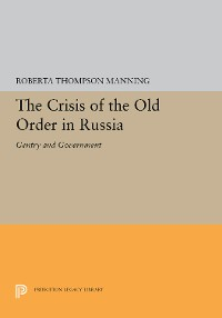 Cover The Crisis of the Old Order in Russia